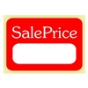 "SALE PRICE, 1.125"" x 1.625"", Roll of 500"