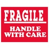 "Fragile, 4"" x 3"", Paper, Roll of 500"