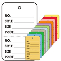 "Lg. Coupon, ""No, Style, Sz, Prc"", w/Tear Off Stub, Plain"