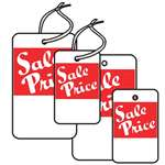 """Sale Price"", White"