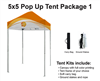 5x5 VENDOR TENT - FULL COLOR CUSTOM PRINTED