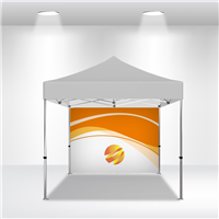 10x10 VENDOR TENT BACKWALL- FULL COLOR CUSTOM PRINTED