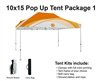 10x15 VENDOR TENT - FULL COLOR CUSTOM PRINTED