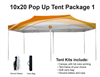 10x20 VENDOR TENT - FULL COLOR CUSTOM PRINTED