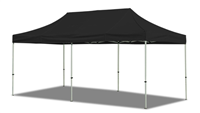 10x20 VENDOR TENT - SOLID COLOR CANOPY
