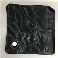Water Bag for flag kits - square black