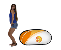 Jelly Bean A-Frame Popup Banner