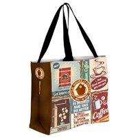 PROMOTIONAL TOTE BAGS - FULL COLOR CUSTOM PRINTED