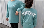 Teal Soffe Imprinted Gymnast Spirit Jersey