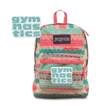 Aztec Gymnastics DigiBreak Jansport embroidered book bag