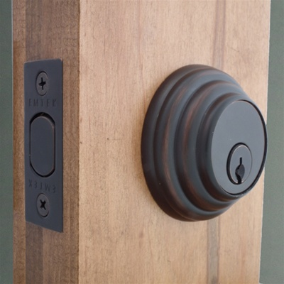Deadbolt Oil Rubbed Bronze