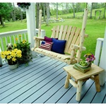 Cedar Outdoor Porch Swing