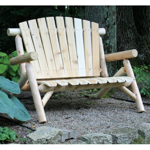 cedar weatherproof garden furniture - Garden Furniture Love Seat