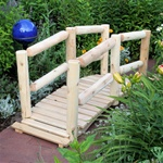 decorative wooden bridges