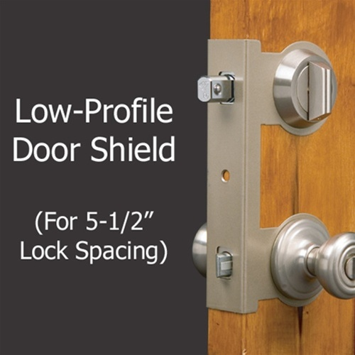 Door Jamb Armor Door Shield & Door Jamb Armor Door Shield | DSH-SLP-1355 | Free Shipping!