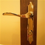 Storm Door Keyed Deadbolt