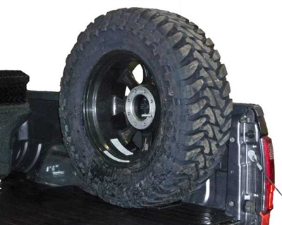 Spare Tire Mount For Pickup Trucks