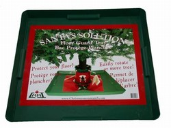 Christmas tree stand floor protecting tray