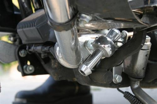 Deer whistle motorcycle