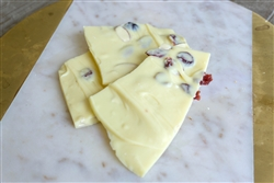 Gourmet White Chocolate Cranberry Almond Bark