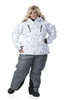 DSG Craze 3.0 Plus Size Jacket - White Print