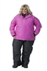 DSG Lily Collection Plus Size Jacket - Pink Heather