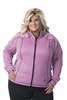 DSG Plus Size Performance Fleece - Pink Heather/ Black