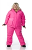 DSG Kylie 3-in-1 Plus Size Hunting Jacket - Blaze Pink