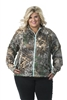 DSG Plus Size Performance Fleece - Realtree Xtra/ Aqua