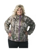 DSG Plus Size Performance Fleece - Realtree Xtra/ Purple