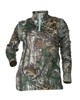 DSG D-Tech Plus Size Base Layer Shirt - Realtree Xtra/Aqua