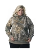 DSG Side Button Plus Size Hoodie - Realtree Xtra Aqua