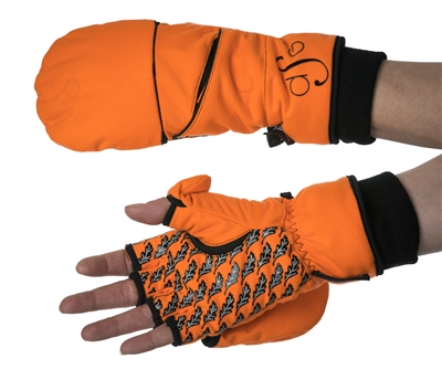 DSG Flip Top Insulated Mitten - Blaze Orange