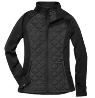 Storm Creek Plus Size Quilted Hybrid Jacket | 4715