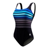 TYR Ombre Stripe Plus Size Swimsuit | TSPQN7A