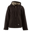 Berne Plus Size Ladies Washed Hooded Coat | WHJ43