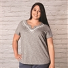 Aventura Maisie Plus Size Short Sleeve | M8073680WP-264