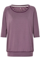 Carite Balue Dolman Plus Size Workout Sleeves Tee | 61007