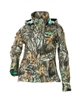 DSG Ava Plus Size Hunting Jacket - Realtree Edge
