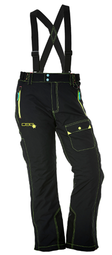 DSG Verge Plus Size Snow Bib/Pant - Black