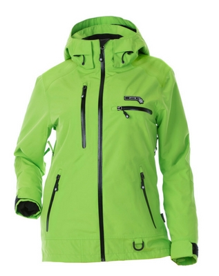 DSG Prizm Plus Size  Technical Jacket- Green Apple
