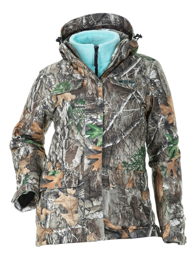 DSG Kylie 3.0 Plus Size Hunting Jacket - Realtree Edge