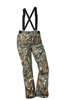 DSG Addie Plus Size Hunting Bib in the Realtree Edge Colorway