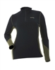 DSG Plus Size D-Tech Base Layer Shirt - Black/ Olive
