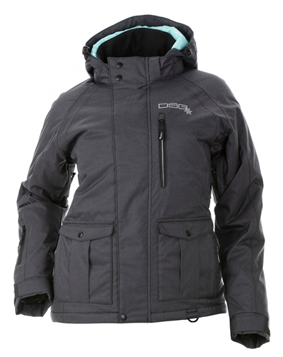 DSG Plus Size Craze 4.0 Jacket - Charcoal Black
