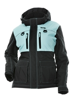 DSG Plus Size Artic Appeal Jacket - Aqua
