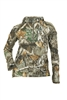 DSG Bexley 2.0 Ripstop Tech Plus Size Long Sleeve Shirt in the Realtree Edge Colorway