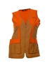 DSG Upland  Plus Size Hunting Vest - Olive/Blaze Orange