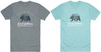 DSG Bearscape  Plus Size Tee - Stone or Celeste Heather