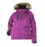 DSG Divine 4.0 Plus Size Jacket - Purple